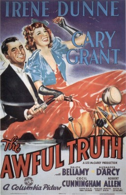 The awful truth Cary Grant cult movie poster Print #11