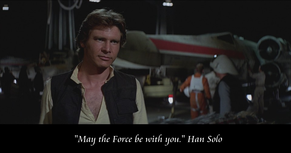 Star Wars Han Solo Quotes Quotesgram